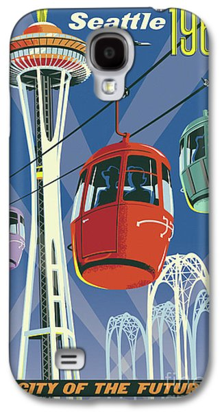 Seattle Space Needle 1962 Galaxy S4 Case