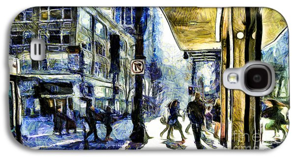 Seattle Streets #2 Galaxy S4 Case