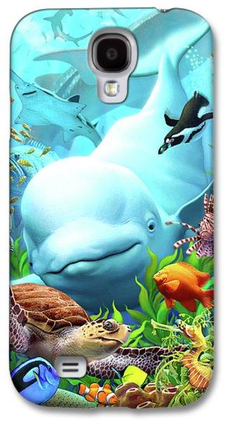 Penguin Galaxy S4 Case - Seavilians 2 by Jerry LoFaro