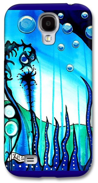 Seaweed - Art By Dora Hathazi Mendes Galaxy S4 Case by Dora Hathazi Mendes