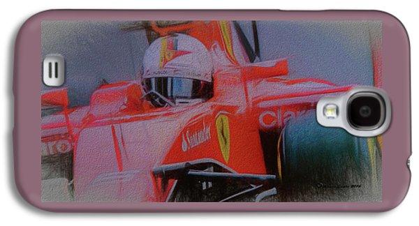 Sebastian Vettel Galaxy S4 Case