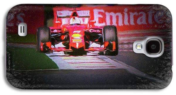 Sebastian Vettel's Ferrari Galaxy S4 Case