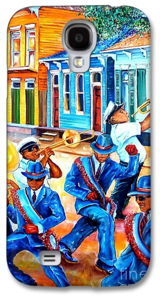 Trombone Galaxy S4 Case - Second Line In Treme by Diane Millsap