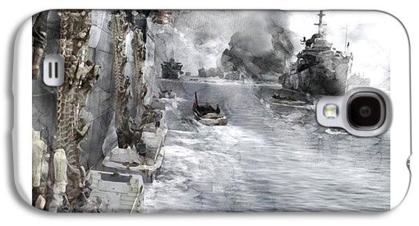 Second World War 0341 Galaxy S4 Case by Jani Heinonen