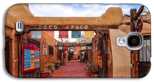 Secret Passageway At Old Town Albuquerque - New Mexico Galaxy S4 Case by Silvio Ligutti
