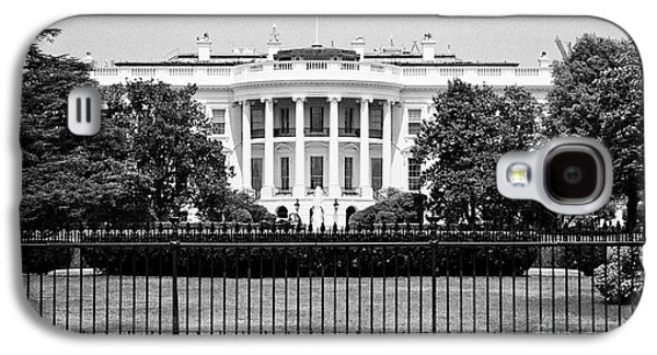 Whitehouse Galaxy S4 Case - security fencing outside the southern facade of the white house Washington DC USA by Joe Fox