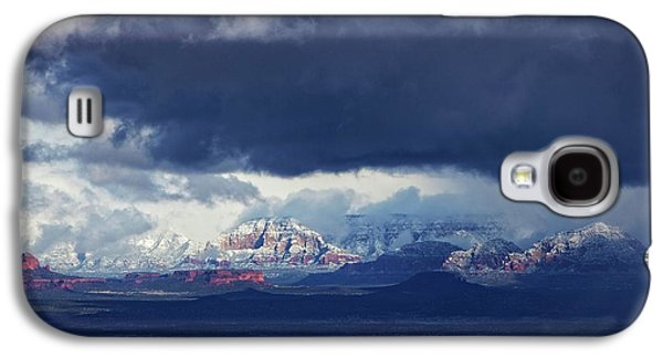 Sedona Area Third Winter Storm Galaxy S4 Case