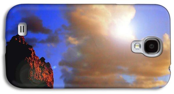 Sedona Mountain Cloud Sun Galaxy S4 Case