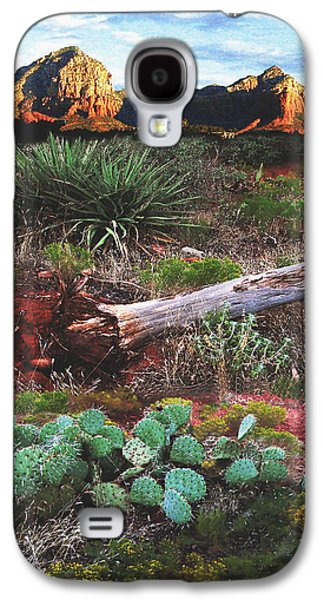 Sedona Mountain Sunrise Galaxy S4 Case