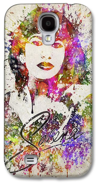 Selena Quintanilla In Color Galaxy S4 Case by Aged Pixel