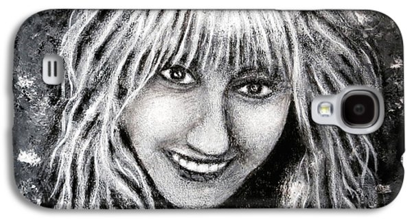 Self Portrait #1 Galaxy S4 Case by Teresa Wing
