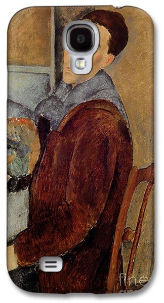 Self Portrait Galaxy S4 Case by Amedeo Modigliani