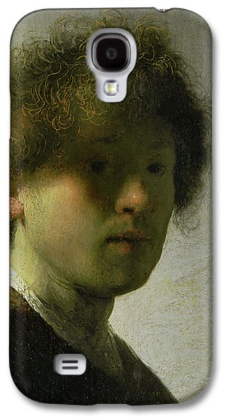 Self Portrait As A Young Man Galaxy S4 Case by Rembrandt