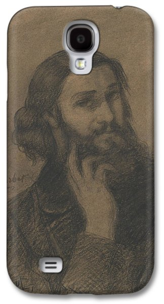 Self-portrait Galaxy S4 Case by Gustave Courbet