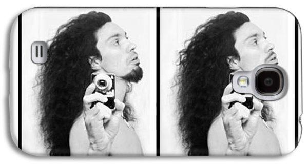 Self Portrait Progression Of Self Deception Galaxy S4 Case
