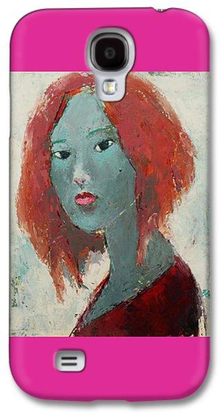 Self Portrait 1502 Galaxy S4 Case by Becky Kim