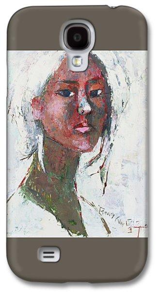 Self Portrait 1503 Galaxy S4 Case by Becky Kim