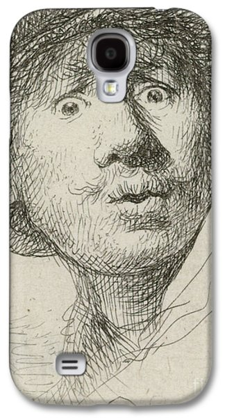 Self-portrait With Beret And Wide-eyed, 1630 Galaxy S4 Case