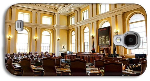 Senate Chamber At The Maine Capitol In Augusta Galaxy S4 Case by Olivier Le Queinec