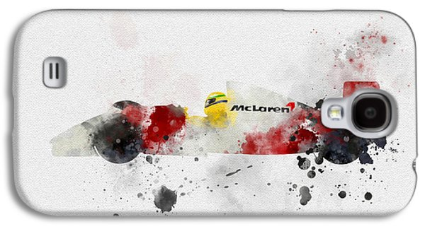 Senna Galaxy S4 Case by Rebecca Jenkins
