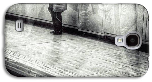 Señor #metro #underground #subway Galaxy S4 Case by Rafa Rivas