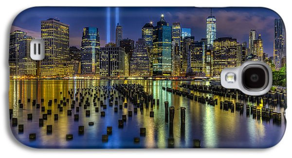 September 11 Nyc Tribute Galaxy S4 Case by Susan Candelario