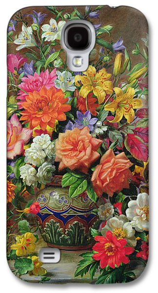 September Flowers   Symbols Of Hope And Joy Galaxy S4 Case by Albert Williams