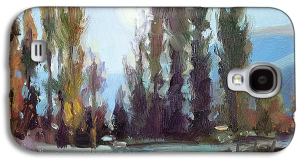 Impressionism Galaxy S4 Case - September Moon by Steve Henderson