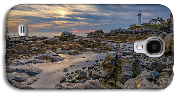 September Morn At Portland Head Galaxy S4 Case by Rick Berk