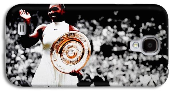 Serena 2016 Wimbledon Victory Galaxy S4 Case