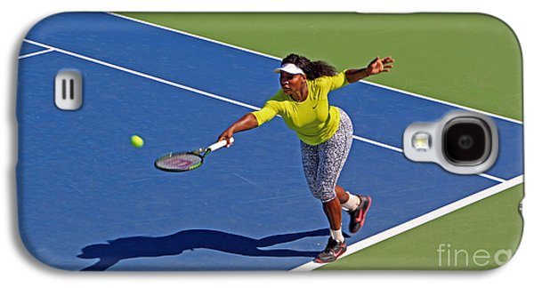 Serena Williams 1 Galaxy S4 Case by Nishanth Gopinathan