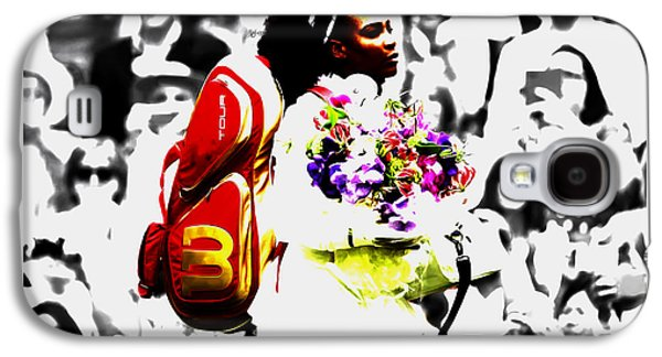 Serena Williams 2f Galaxy S4 Case by Brian Reaves