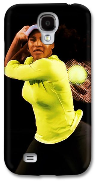 Serena Williams Bamm Galaxy S4 Case by Brian Reaves