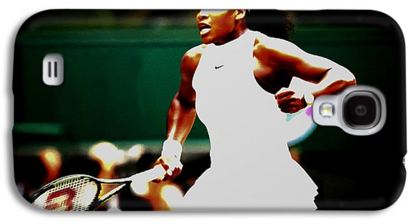 Serena Williams Making History Galaxy S4 Case by Brian Reaves