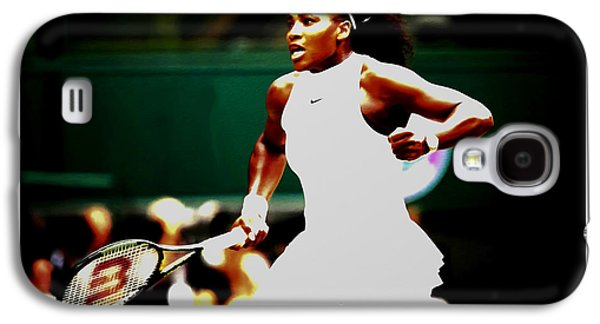 Serena Williams Galaxy S4 Case - Serena Williams Making History by Brian Reaves