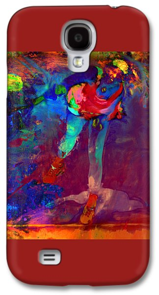 Serena Williams Return Explosion Galaxy S4 Case by Brian Reaves