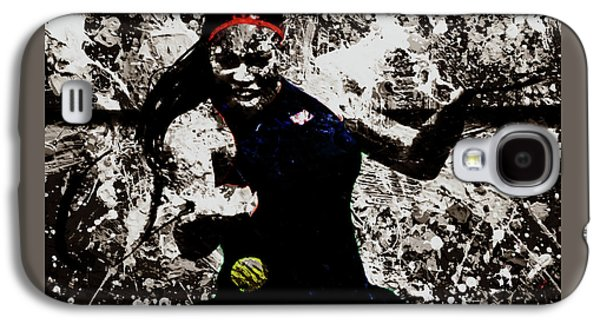 Serena Williams S4e Galaxy S4 Case by Brian Reaves