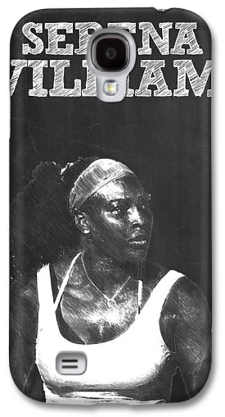 Serena Williams Galaxy S4 Case by Semih Yurdabak