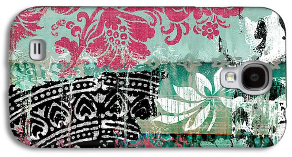Serendipity Damask Batik II Galaxy S4 Case by Mindy Sommers