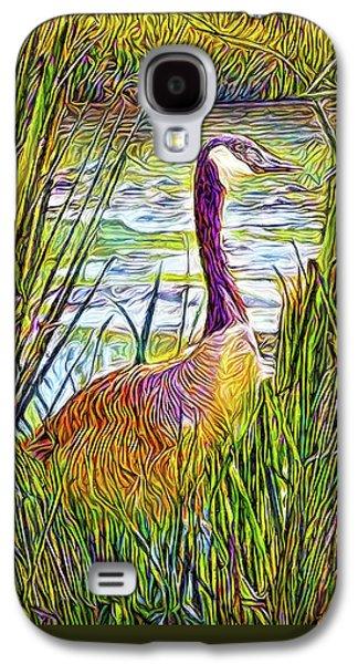 Serene Goose Dreams Galaxy S4 Case by Joel Bruce Wallach