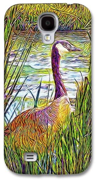 Serene Goose Dreams Galaxy S4 Case