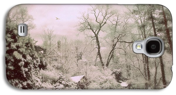 Galaxy S4 Case featuring the photograph Serene In Snow by Jessica Jenney