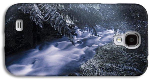 Serene Moonlit River Galaxy S4 Case