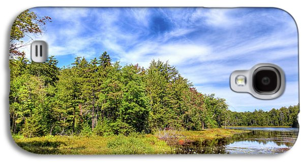 Galaxy S4 Case featuring the photograph Serenity On Bald Mountain Pond by David Patterson