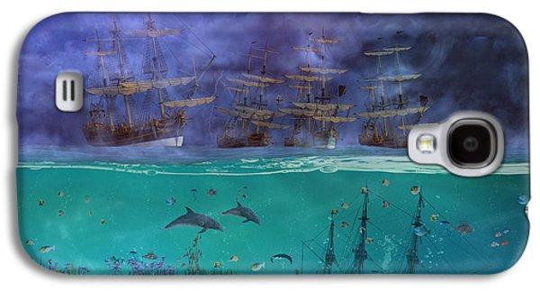 Serenity Point Galaxy S4 Case by Betsy Knapp