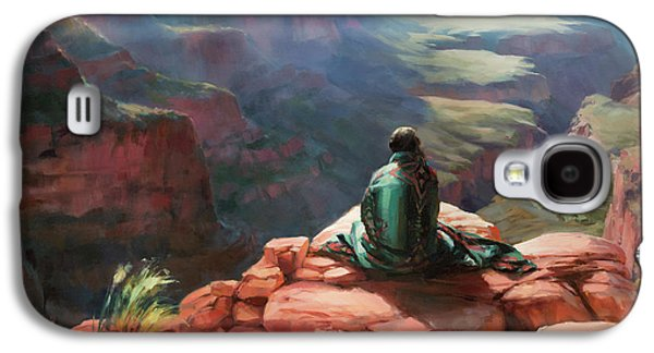 Grand Canyon Galaxy S4 Case - Serenity by Steve Henderson
