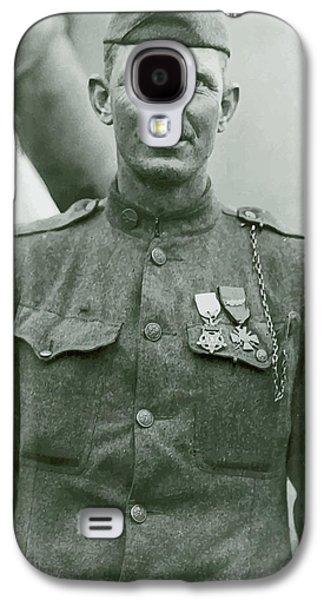 Sergeant Alvin York Galaxy S4 Case by War Is Hell Store