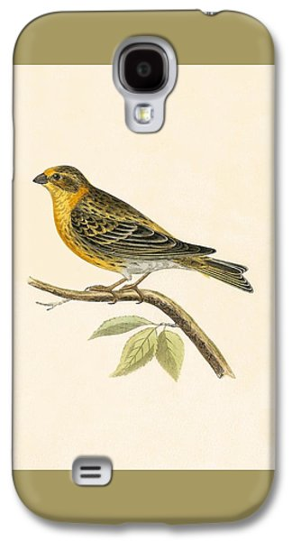 Serin Finch Galaxy S4 Case