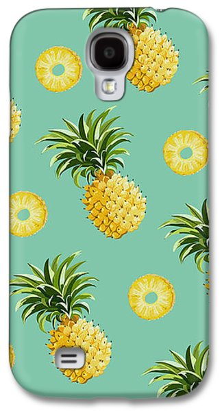 Set Of Pineapples Galaxy S4 Case by Vitor Costa