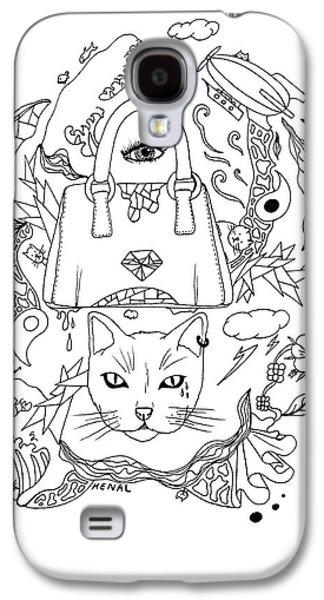 Seven Cats In Tokyo Contour Galaxy S4 Case